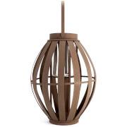 Broste Copenhagen Arne Bamboo Wood Lantern