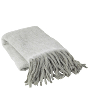 Broste Copenhagen Leon Woollen Throw - Dove