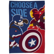Captain America: Civil War Polar Fleece Blanket - 120 x 150cm