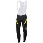 Sportful Men's Giro 2 Bib Tights - Black/Yellow
