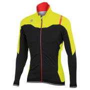 Sportful Fiandre NoRain Jacket - Black/Yellow