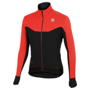 Sportful R & D Light Jacket - Black/Red