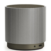 Lexon Fine Rechargeable Bluetooth Speaker - Silver
