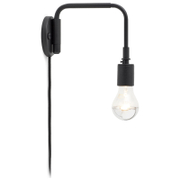 Menu Staple Wall Lamp - Black