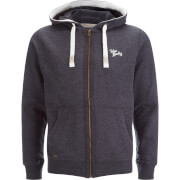 Tokyo Laundry Men's Wood River Zip Through Hoody - Charcoal Marl