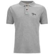 Tokyo Laundry Men's Willowood Polo Shirt - Light Grey Marl