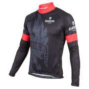 Bianchi Sorisole Long Sleeve Jersey - Black/Red