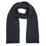 Selected Homme Men's Croft Scarf - Dark Navy