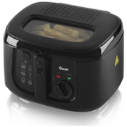 Swan SD6080BLKN 2.5L Square Fryer - Black