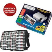 Nintendo Classic Mini: Nintendo Entertainment System + NES Controller Messenger Bag