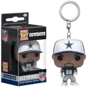 NFL Dez Bryant Pocket Pop! Vinyl Key Chain