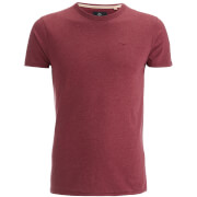Threadbare Men's William T-Shirt - Burgundy Marl