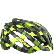 Lazer Z1 Helmet with Aeroshell - Camo Flash Yellow