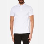 Hackett London Men's Tailored Logo Polo Shirt - White/Blue