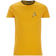 Star Trek Men's Engineer Uniform T-Shirt - Yellow