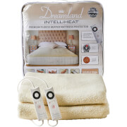 Dreamland 16305 Sleepwell Intelliheat Soft Fleece Heated Mattress Protector - Cream - Double Dual
