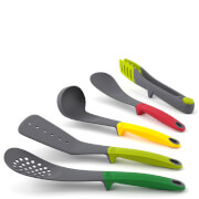 Joseph Joseph Elevate Utensils Set of 5 Including Tongs