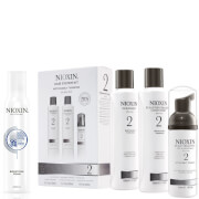 Nioxin Hair System Kit 2 and Bodifying Foam Bundle