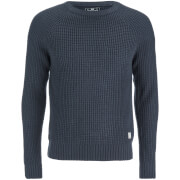 Crosshatch Men's General Jumper - Parisian Night Navy