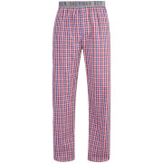 Ben Sherman Men's Check Tim Lounge Pants - Navy/Red/White