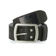 Superdry Men's Distressed Classic Belt in a Box - Black