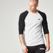 Myprotein Heren Core Baseball T-Shirt - Grijs