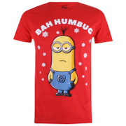 Despicable Me Men's Bah Humbug T-Shirt - Red