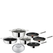 Jamie Oliver by Tefal Stainless Steel 7 Piece Cookware Set