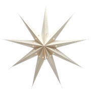 Bark & Blossom Paper Star - White