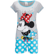 Disney Women's Mini Mouse Shorts Pyjamas - Blue