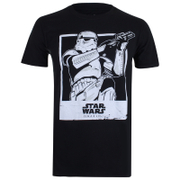 Star Wars Rogue One Men's Trooper Polaroid T-Shirt - Black