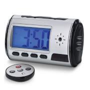 Aduro DVR Digital Video Camera Alarm Clock Nanny Cam - Silver/Black
