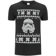 Stormtrooper Men's Christmas Jumper Trooper T-Shirt - Black