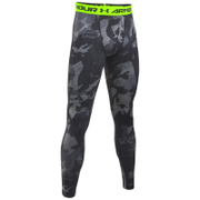 Under Armour Men's HeatGear Armour Printed Compression Tights - Black