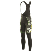 Alé PRR Roubaix Camo Bib Tights - Black/Green