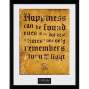 Harry Potter Happiness Can Be Framed Photographic - 16