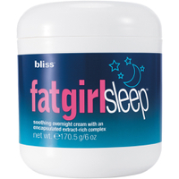 Crema adelgazante de noche bliss Fat Girl Sleep 6oz