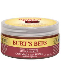 Burt's Bees Sugar Scrub - Cranberry & Pomegranate 8oz
