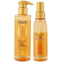 L'Oreal Professionel Mythic Oil Shampoo & Colour Glow Oil Bundle