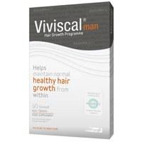 Suplemento alimenticio para el cuidado capilar del hombre Viviscal Man - Suministro de un mes (60 pastillas)