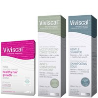 Viviscal Max Hair Growth Supplements 60s, Shampoo 200ml & Conditioner 200ml (Bundle)