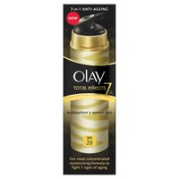 Sérum hidratante 2-en-1 Olay Total Effects SPF 20 (40ml)