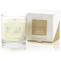 Baylis & Harding Mosaic Jojoba, Silk and Almond Single Wick Candle