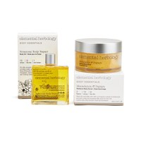 Elemental Herbology Botanical Body Repair and Macadamia and Papaya Body Scrub