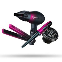 EGO Professional Special Edition Pink Jet Set Travel Kit for First Class Hair