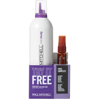 Paul Mitchell Extra Body Sculpting Foam with FREE Ultimate Color Repair Sample (Worth £33.25)