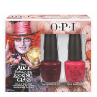 OPI Alice In Wonderland Nail Varnish Collection - Mad Hatter Duo Pack 2 x 15ml