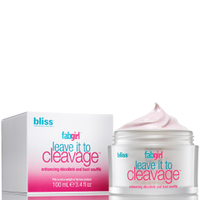 Bliss FabGirl Crema de Escote y Pecho Leave It To Cleavage Enhancing Décolleté y Bust (100ml)