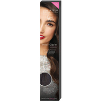 "Beauty Works Jen Atkin Invisi-Clip-In Hair Extensions 18"" - Ebony Black 1B"