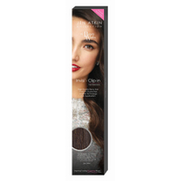 """Beauty Works Jen Atkin Invisi-Clip-In Hair Extensions 18"""" - Raven 2"""